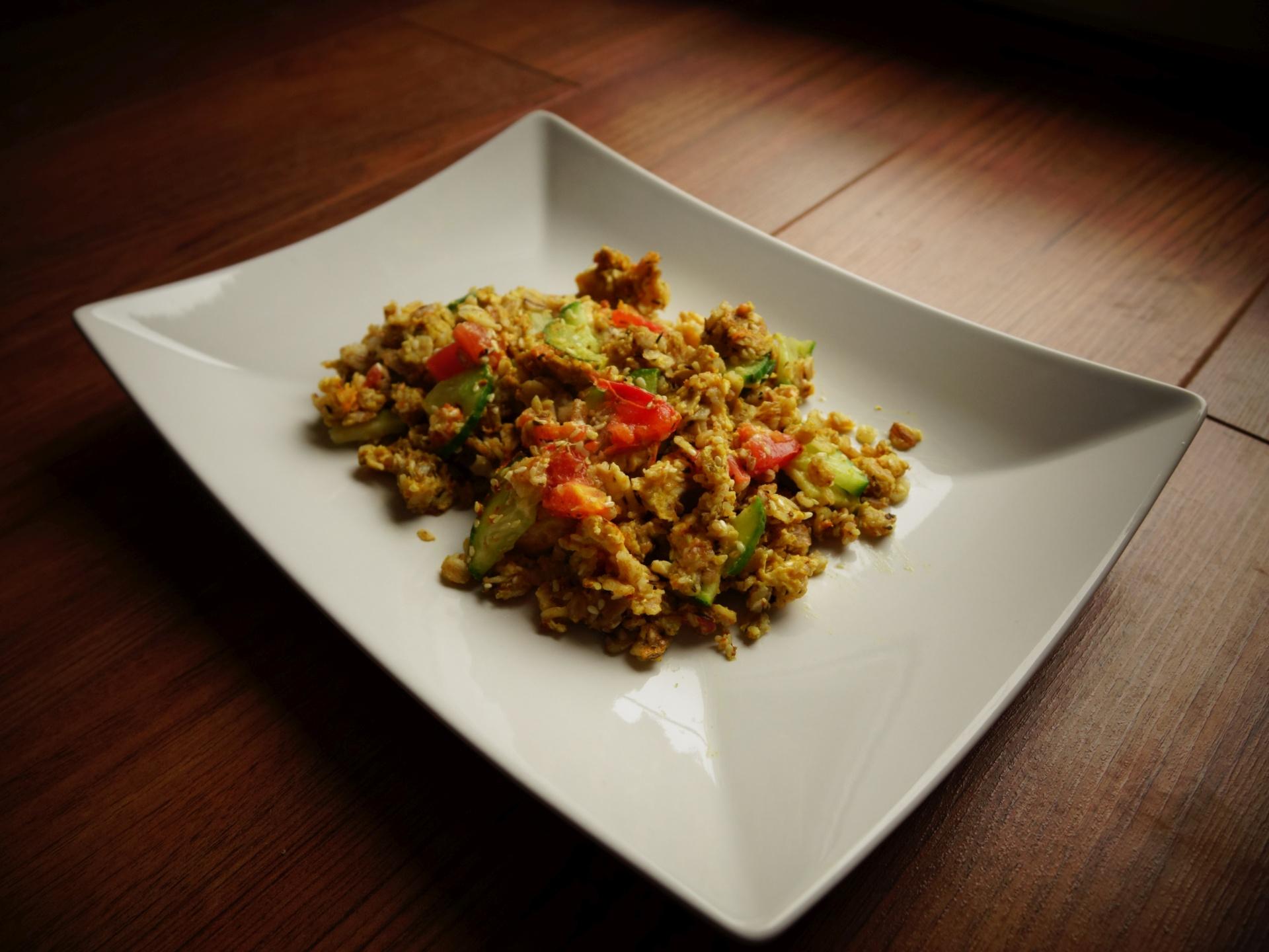 Jajecznica z curry! Śniadaniowa inspiracja!