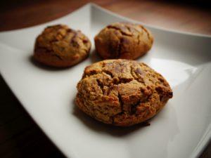 Fit ciastka orzechowe (dietetyczne ciastka)